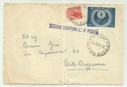 Francobolli Da Lire 10 - Lire 40 Su Busta Spedita 1967 - 6. 1946-.. Republic