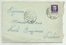 Francobollo Cent. 50 Poste Italiane   Su Busta Anno 1942 - Marcophilie