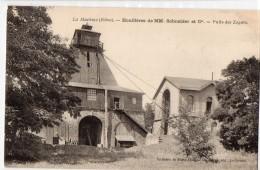 La Machine,puits Des Zagots,houillères De Mm Schneider - La Machine