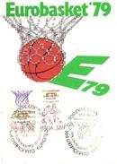 EUROBASKET TORINO  EUROPEAN CHAMPIONSHIPS1979  MAXIMUN (SET160239) - Baseball