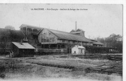 58 Nièvre,la Machine,Pré-Charpin Ateliers De Lavage Des Charbons - Mines