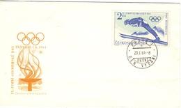 CECOSLOVAKIA    1964 DEN VYDANI  INSBRUCK 1964 (SET160243) - Salto