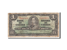 Canada, 1 Dollar, 1937, KM:58d, 1937-01-02, B - Canada