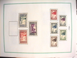 K Collection Luxe En Album Y Et T LAOS Timbres Oblitérés Voir Commentaires. - Stamps