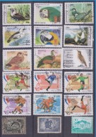 LOT OF USED STAMPS DEPORTES SPORTS ANIMALES  ANIMALS BIRDS PAJAROS  PAISES  COUNTRIES VARIOS  VARIOUS   S-1730 - Sellos