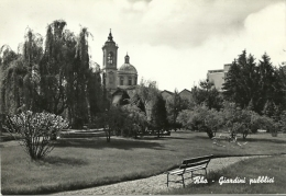 Rho(Milano)-Giardini Pubblici-1961 - Rho