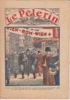 LE PELERIN 2 Avril 1933 Vienne Rome à Pied, Diocèse D'Angers, Aux Environs De Nice La Cueillette Du Mimosa. .. - Livres, BD, Revues