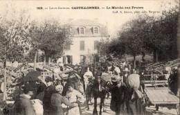 CASTILLONNES LE MARCHE AUX PRUNES - Frankreich