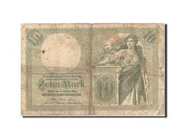 Allemagne, 10 Mark, 1904-1906, KM:9b, 1906-10-06, B+ - [ 2] 1871-1918 : Duitse Rijk