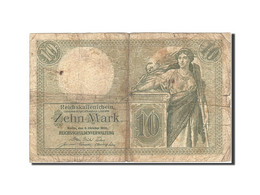 Allemagne, 10 Mark, 1904-1906, KM:9b, 1906-10-06, B+ - [ 2] 1871-1918 : Impero Tedesco
