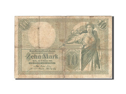 Allemagne, 10 Mark, 1904-1906, KM:9b, 1906-10-06, TB - [ 2] 1871-1918 : Impero Tedesco