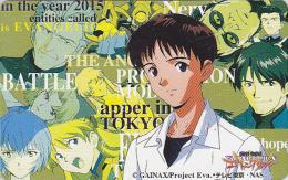 RARE Télécarte Japon - MANGA - EVANGELION - ANIME Japan Movie Phonecard - BD COMICS Telefonkarte - 7058 - Cinéma