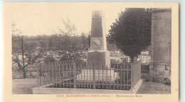 27410 - HARTENNES ET TAUX - MONUMENT AUX MORTS - France