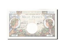 France, 1000 Francs, 1 000 F 1940-1944 ''Commerce Et Industrie'', 1940, 1940-... - 1871-1952 Antiguos Francos Circulantes En El XX Siglo
