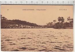 Côte D'Ivoire - Village Lacustre - Côte-d'Ivoire