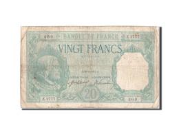 France, 20 Francs, 20 F 1916-1919 ''Bayard'', 1917, 1917-03-23, KM:74, TB, Fa... - 1871-1952 Circulated During XXth