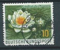 ALLEMAGNE ALEMANIA GERMANY DEUTSCHLAND BUND 1957 Schützt Die Pflanzen Und Tiere: Naturschutz 10Pfg MI 274 YV 146 SC 773 - BRD
