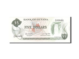 Guyana, 5 Dollars, 1966, KM:22f, Undated, NEUF - Guyana