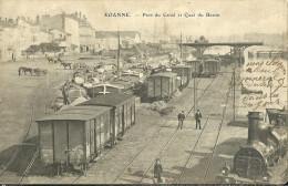 Roanne Port Du Canal Et Quai Du Bassin - Roanne