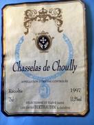 1831 - Suisse Genève Chasselas De Choully 1997 - Etiquettes