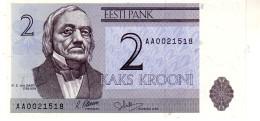 Estonia P.50  2 Krooni 1992  Unc - Estonia