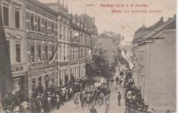ESCH SUR ALZETTE-FESTIVAL WAGEN VON KELTISCHEN BARDEN - Esch-Alzette