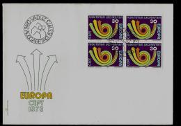 FDC -  EUROPA CEPT  - 1973 -  LIECHTENSTEIN - Europa-CEPT