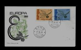 FDC - EUROPA CEPT  - 1965  -  ITALY - Europa-CEPT