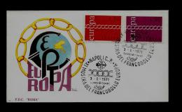 FDC  -EUROPA CEPT  - 1971  - ITALY - 1971