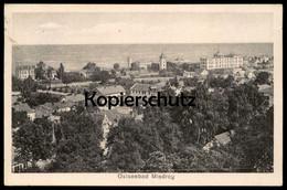 ALTE POSTKARTE OSTSEEBAD MISDROY Miedzyzdroje Pommern Poland Polska Cpa AK Ansichtskarte Postcard - Pommern