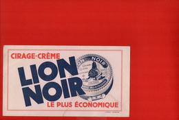 Buvard - Cirage Lion Noir - Carte Assorbenti