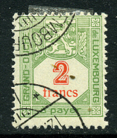 Luxembourg Y&T Taxes 21 ° - Postage Due