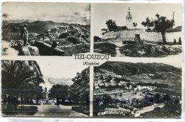 - 101 - TIZI OUZOU - ( Kabylie ), Multi Vues, Petit Format, Glacée, écrite 1959, BE, FM, Scans. - Tizi Ouzou