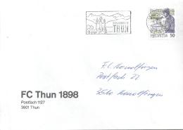"Motiv Brief  ""FC Thun 1898""       1988 - Svizzera"
