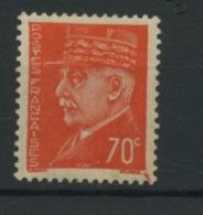 FRANCE - PETAIN  - N° Yvert 511** - 1941-42 Pétain