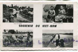 -23 - Indochine- SAIGON - Multi Vues, Souvenir Du Viet Nam, Petit Format, Glacée, écrite, BE, Scans. - Viêt-Nam