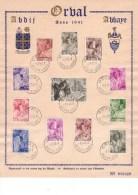 Carte Souvenir 556-567 Orval - Cartes-maximum (CM)