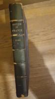 HISTOIRE DE  FRANCE TOME I  PREMIER   PUBLIE PAR MARCEL REINHARD 1954 FORMAT  30 X 21 CM  PARFAIT ETAT - History