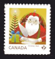 "CANADA 2014, # 2798, CHRISTMAS  SANTA CLAUS   """"P"""" Rate , Single Stamp  MNH - Carnets"