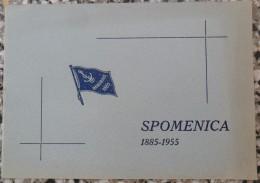V.K. DANUBIUS SPOMENICA 1885 - 1955 NOVI SAD - Aviron
