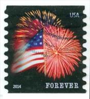 Etats-Unis / United States (Scott No.4853 - Feux D'artifice / Fireworks) (o) COIL 8-1/2 - Gebruikt