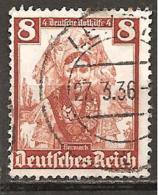 Michel 592 O - Deutschland
