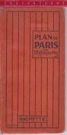 Nice , Plan De PARIS  En 12 Coupures 1920,    35 Pages - Maps