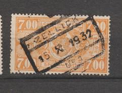 COB 159 Oblitéré ZELLICK - 1923-1941