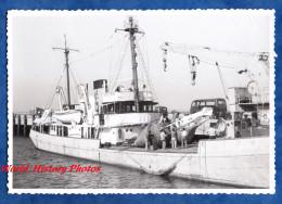 Photo Ancienne Snapshot - Pointe De GRAVE - Bateau Charles RIBIERE - Port - Verdon Sur Mer Royan - Boat - Boten