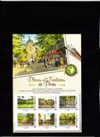 France 2016 Collector 6 Timbre Adhésif, Lettre Verte, Places Et Fontaines De Paris - Collectors