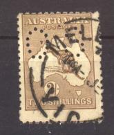 Australie  -  Services  ;  Mi  11 II  (o)    Wz 2