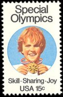 1979 USA Special Olympics Stamp Sc#1788 Child Medal Olympic Games Sport - Handicaps