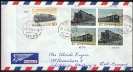 Japan Sapporo 1976 /  Trains, Railway, Locomotive - Treni