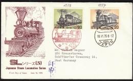 Japan 1975 /  Trains, Railway / Japanese Steam Locomotive - Treni